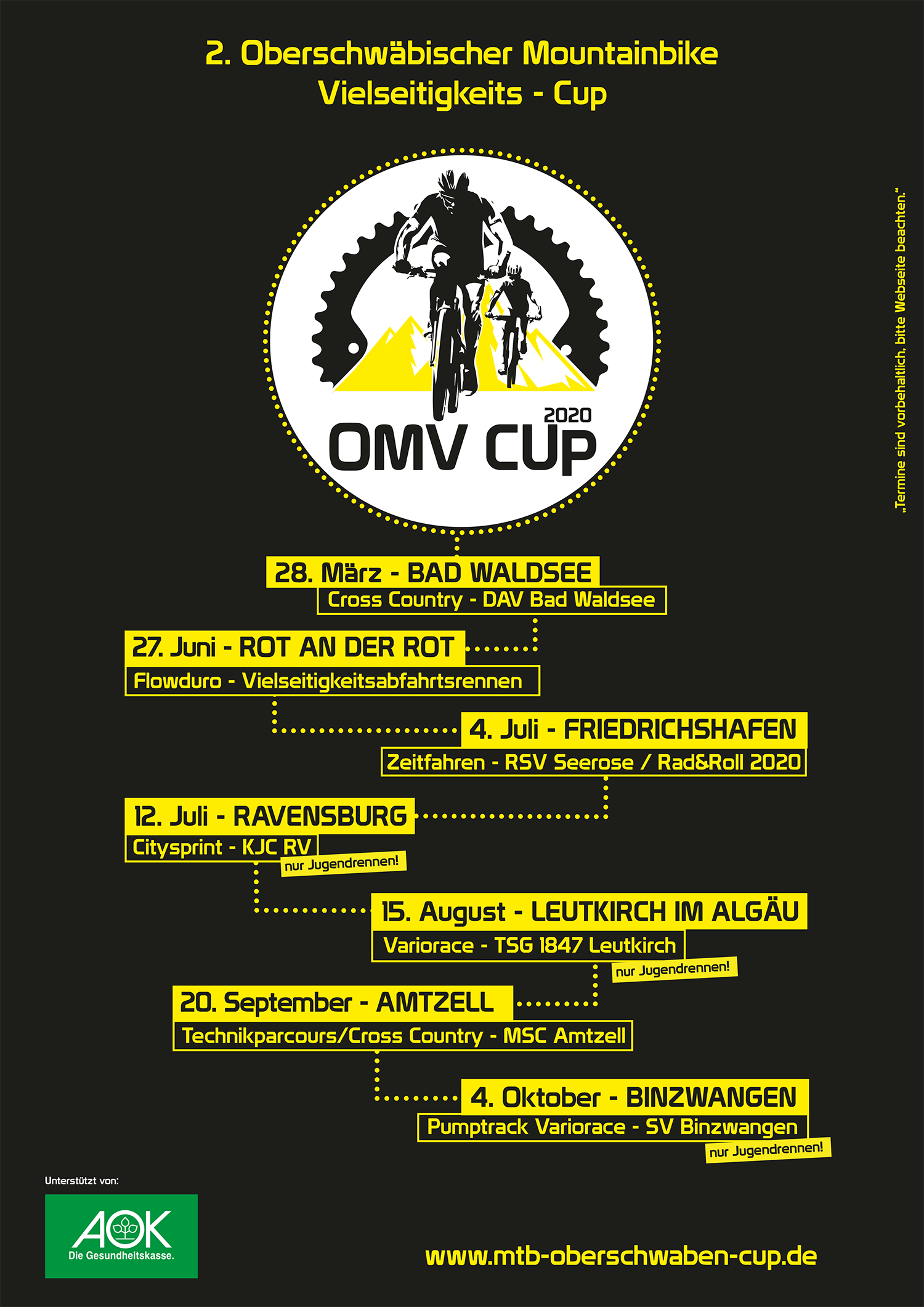 Flyer OMV Cup
